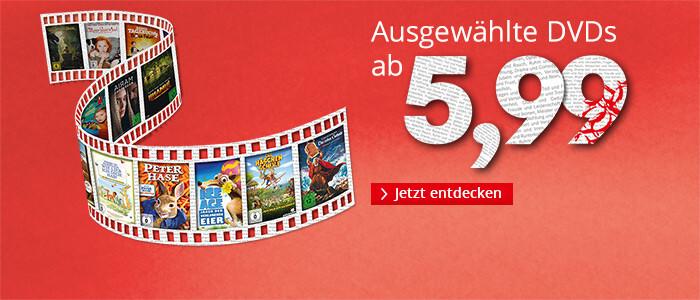 DVDs ab € 5,99