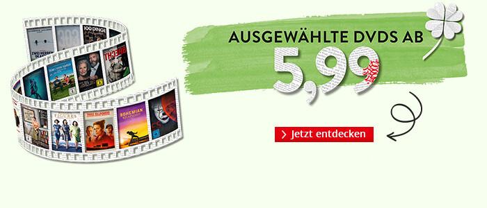 Ausgewählte DVDs ab € 5,99
