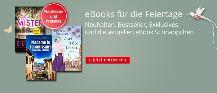 eBooks für die Oster-Feiertage bei Hugendubel entdecken
