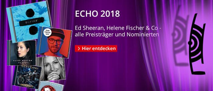 ECHO 2018 - Alle Preisträger und Nominierten