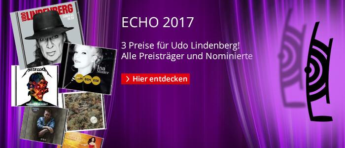 ECHO 2017 - Alle Preisträger und Nominierten