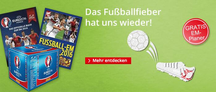 Die Fußball EM 2016 bei Hugendubel.de