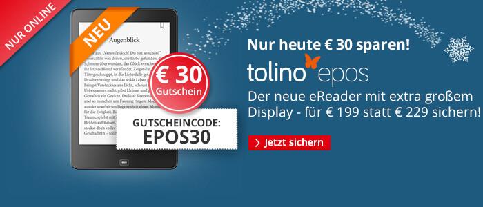 tolino epos - Jetzt 30€ sparen!