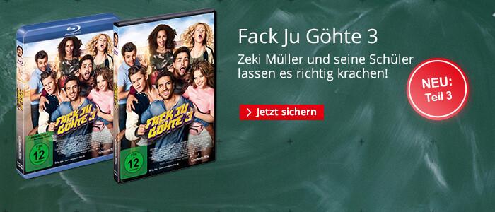 Fack Ju Göhte 3 - jetzt auf DVD & Blu-ray