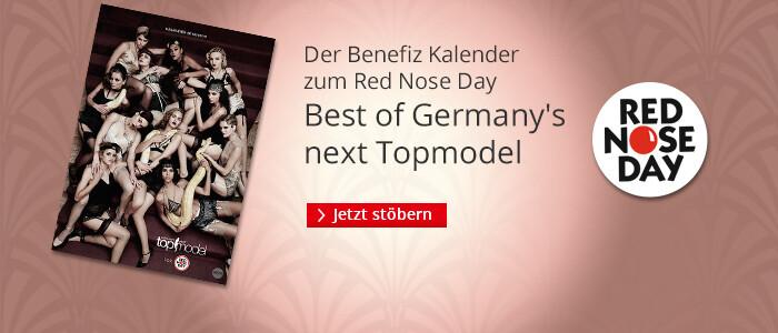 Der neue Germany's next Topmodel Kalender 2016/2017