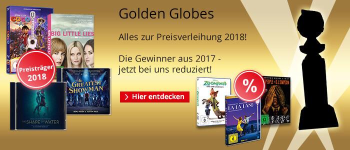 Golden Globe Awards 2018 - Alles über Preisträger & Nominierte