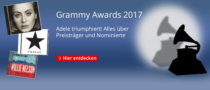 Grammy Awards 2017 - Alles über Preisträger und Nominierte