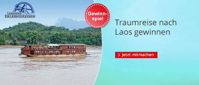 Traumreise nach Laos gewinnen!