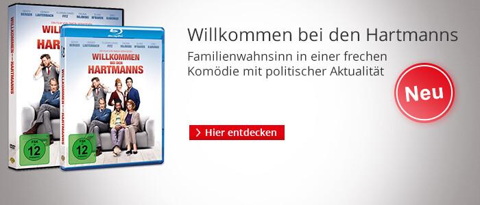 Willkommen bei den Hartmanns - jetzt auf DVD & Blu-ray