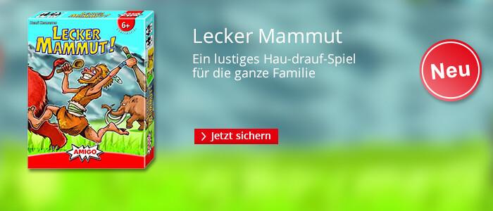 Lecker Mammut - Ein lustiges Hau-drauf-Spiel für die ganze Familie