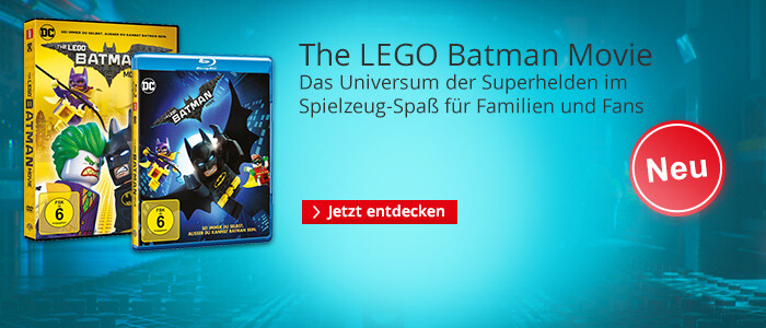 The Lego Batman Movie - jetzt auf DVD & Blu-ray