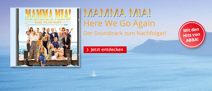 Mamma Mia 2 - Der Soundtrack zum Musical-Film