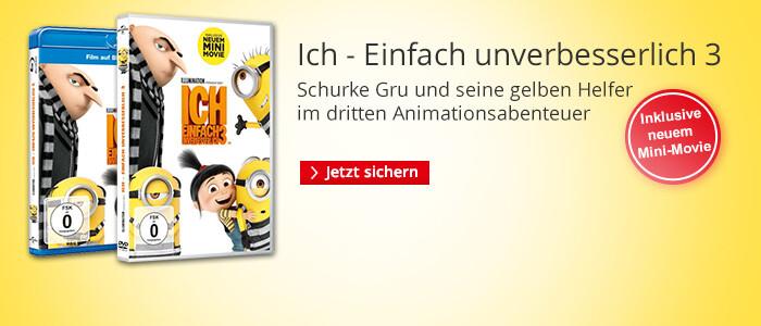 Ich - Einfach unverbesserlich 3 : Jetzt auf DVD & Blu-ray