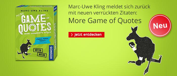 MorgeGame of Quotes - von Marc-Uwe Kling