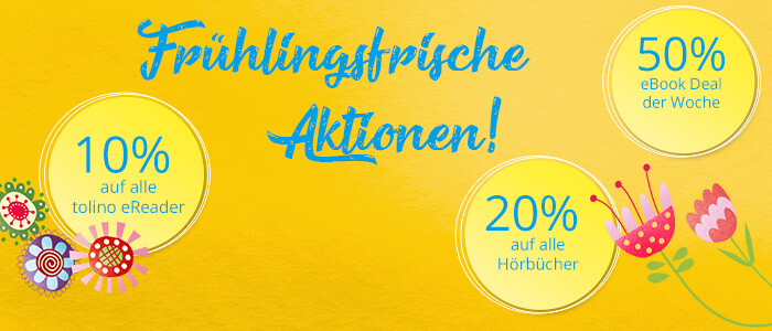 Tolle Osteraktionen auf Hugendubel.de und in allen Filialen