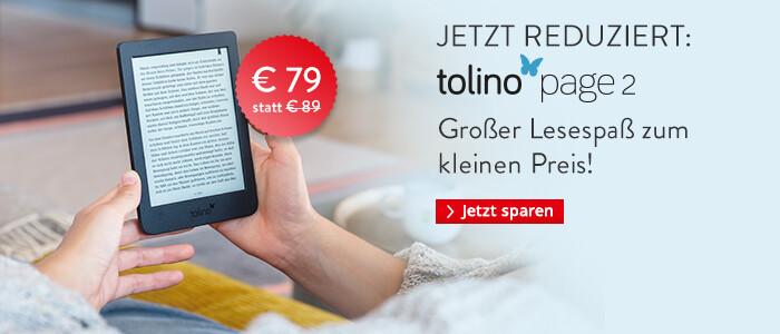 eReader tolino page 2 nur € 79
