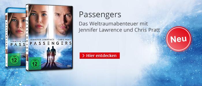 Passengers - mit Jennifer Lawrece und Chris Pratt