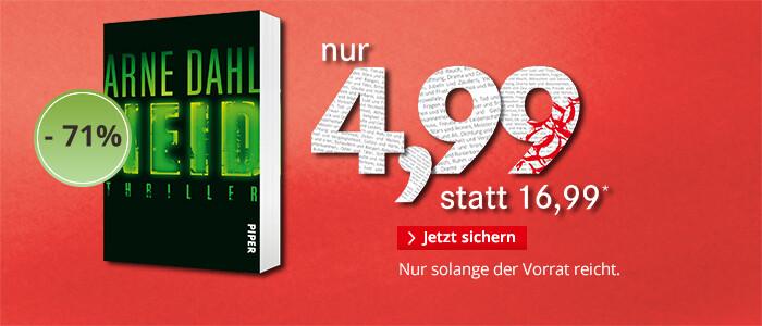 Unser Preistipp: Arne Dahl