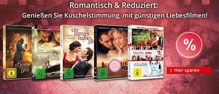 Romantisch & Reduziert: Genießen Sie Kuschelstimmung mit günstigen Liebesfilmen