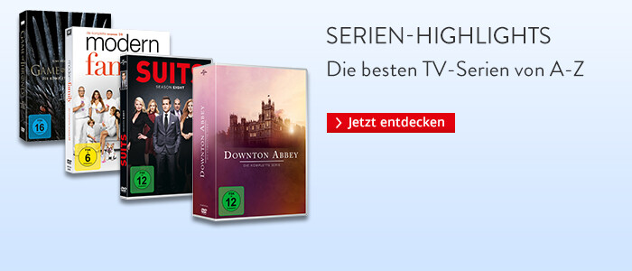 Serienhighlights - die besten TV-Serien von A-Z
