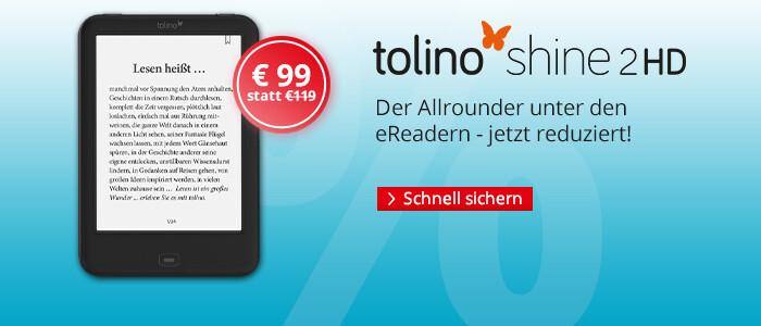 tolino shine für € 99 sichern