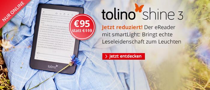 eReader tolino shine 3 nur € 95