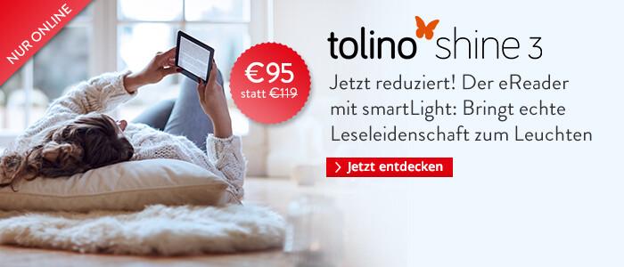 tolino shine 3 jetzt für € 95 sichern