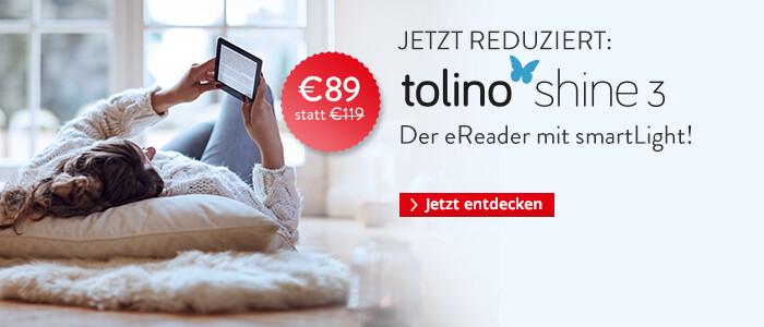 tolino eReader shien 3 für 89 EUR sichern