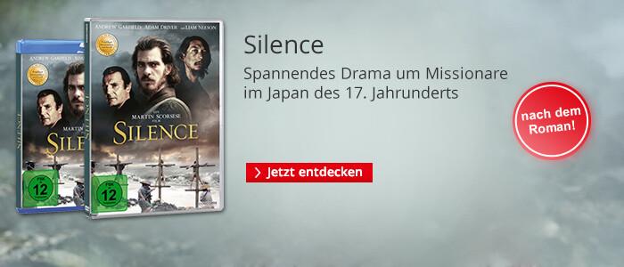 Silence auf DVD & Blu-ray