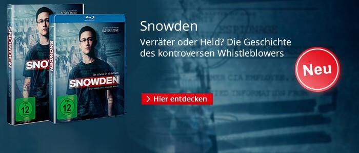 Snowden - auf DVD & Blu-ray