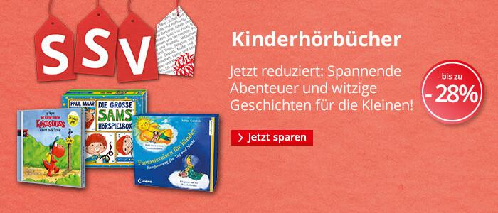 Kinderhörbücher bei Hugendubel bis 28% reduziert