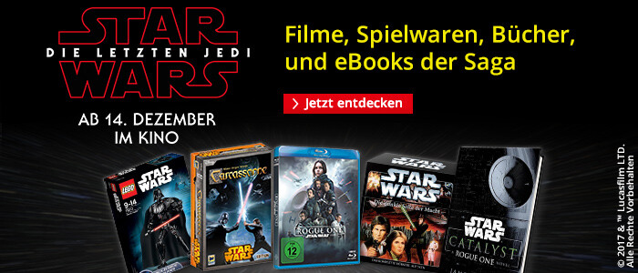 Star Wars - alle Bücher, Filme und Spielwaren