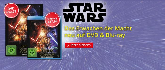 Star Wars VII - neu auf DVD & Blu-ray