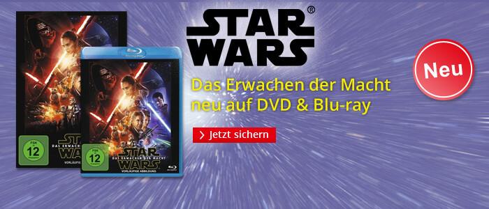 Star Wars VII - Das Erwachen der Macht neu auf DVD & Blu-ray
