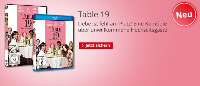 Table 19 - jetzt auf DVD & Blu-ray