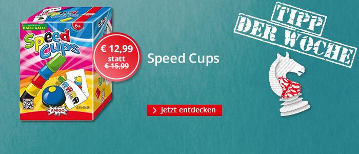 Tipp der Woche Spielwaren: Speed Cups