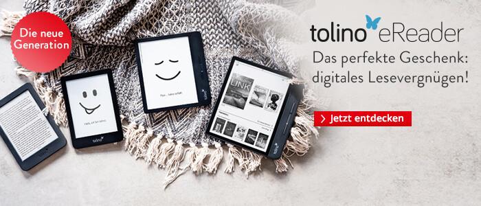 Das perfekte Geschenk: Digitales Lesevergnügen mit den tolino eReadern