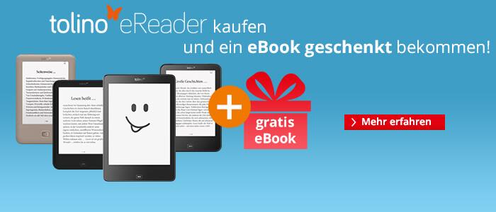 tolino kaufen und Gratis eBook geschenkt bekommen