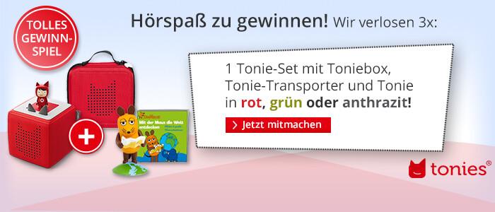 tonies® - jetzt tolles Tonie-Set gewinnen!