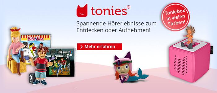 Tonies - das neue Audiosystem für Kinderhörspiele