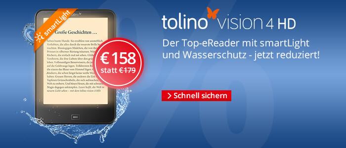 eReader tolino vision 4 HD für € 158