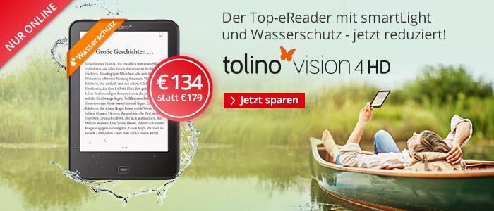 tolino vision 4 HD jetzt besonders günstig siichern
