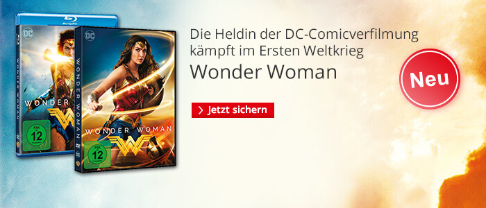 Wonder Woman - jetzt auf DVD, Blu-ray & 3D-Blu-ray