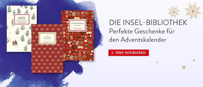Die Insel-Bibliothek: Die perfekten Geschenke für den Adventskalender