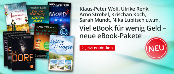 Viel eBook für wenig Geld - neue eBook-Pakete bei Hugendubel