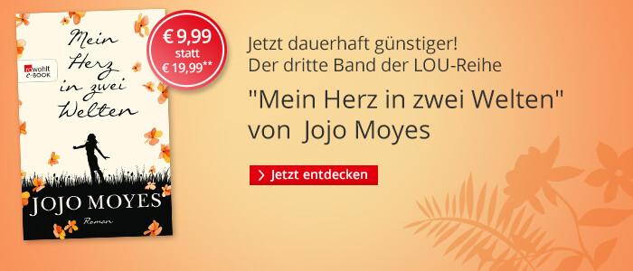 Jetzt zum günstigen Taschenbuchpreis: Jojo Moyes, Mein Herz in zwei Welten bei Hugendubel