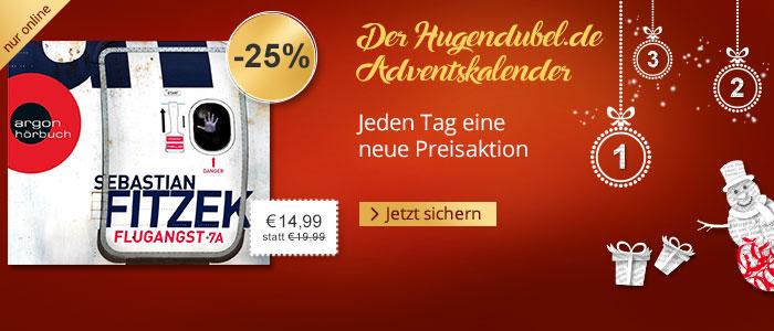 Der Hugendubel.de Adventskalender: Jeden Tag eine neue Preisaktion