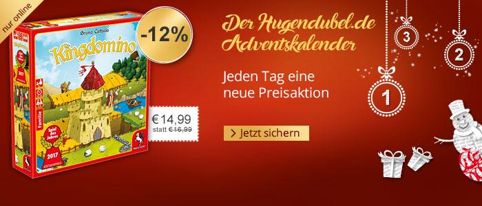 Der Hugendubel.de Adventskalender - Jeden Tag eine neue Preisaktion