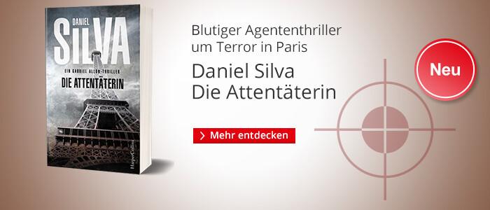 Daniel Silva: Die Attentäterin