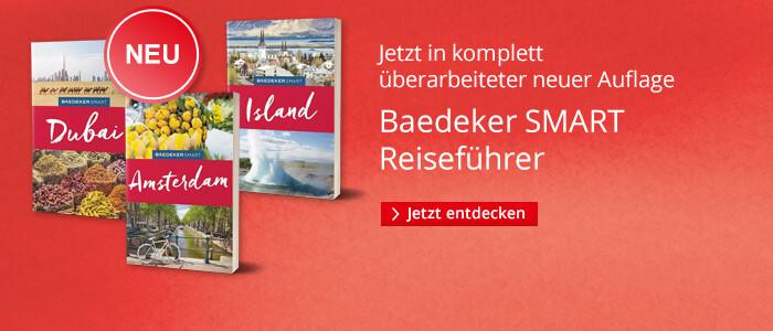 Baedeker Smart - die Reiseführer-Reihe in neuer Auflage